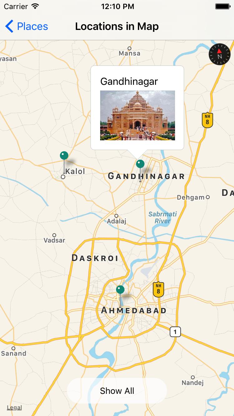 React Native iOS app with MapView - Blog - Surekha Technologies