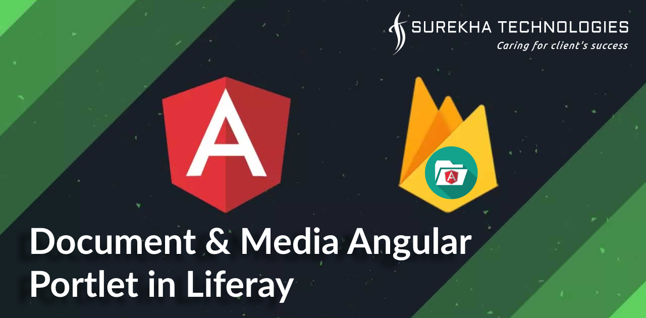 Document and media Angular portlet