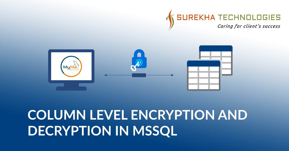 Column level Encryption and Decryption in MSSQL